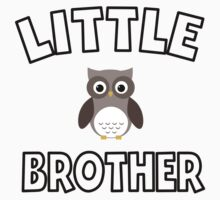 Owl Little Brother Kids Clothes