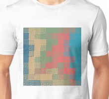 Glass abstract design Unisex T-Shirt