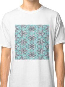 Black stars pattern Classic T-Shirt