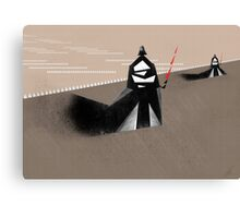 The Jedi hunt Canvas Print