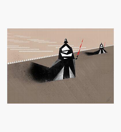 The Jedi hunt Photographic Print