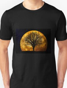 Tree and Moon  Unisex T-Shirt