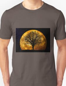 Tree and Moon  T-Shirt