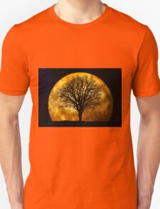 Tree and Moon  T-Shirt