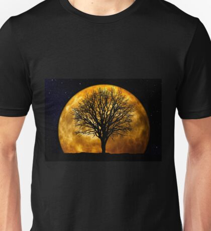 Tree and Moon  Unisex T-Shirt