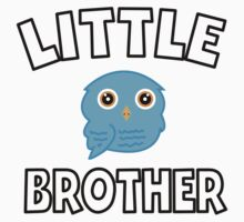 Blue Owl Little Brother Kids Tee