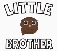 Brown Owl Little Brother Kids Tee