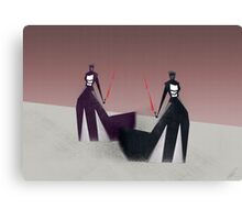 The twin sith Canvas Print