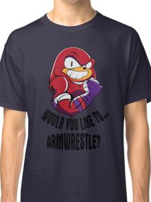 Would You Like to Armwrestle? Classic T-Shirt