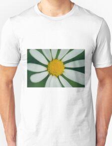 White flower macro Unisex T-Shirt