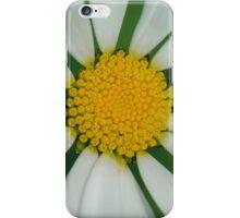 White flower macro iPhone Case/Skin