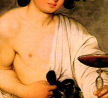Bacchus - Michelangelo Merisi da Caravaggio Sticker