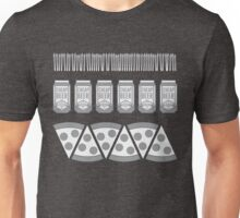 Beer & Pizza Unisex T-Shirt
