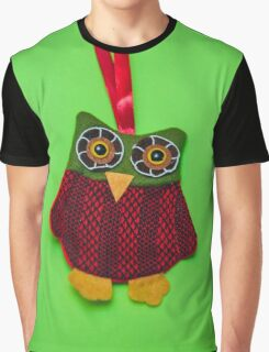 Cute owl decoration Graphic T-Shirt