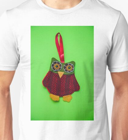 Cute owl decoration Unisex T-Shirt