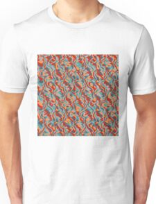 Chaos abstract design Unisex T-Shirt