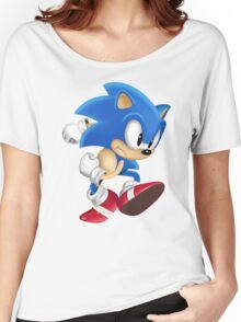 Sonic Runner Women's Relaxed Fit T-Shirt
