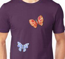 Butterflies Orange & Blue Unisex T-Shirt