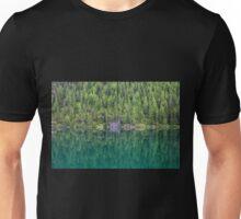 Trees at Lake Braies  Unisex T-Shirt