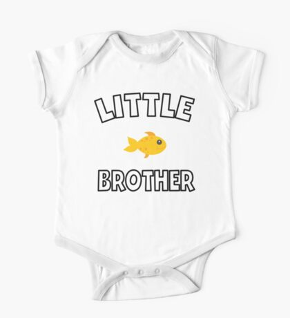 Goldfish Little Brother One Piece - Short Sleeve