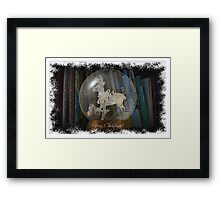 Merry Christmas To You All Framed Print