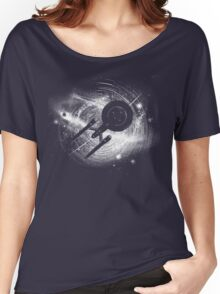 Trek in space Women's Relaxed Fit T-Shirt