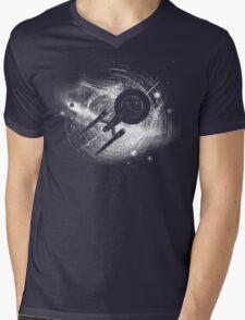 Trek in space Mens V-Neck T-Shirt