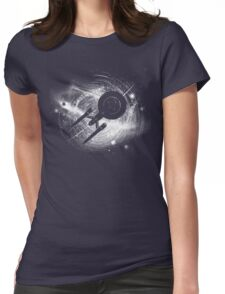 Trek in space Womens Fitted T-Shirt