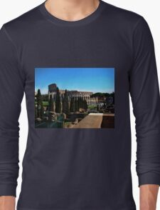 Roman Colosseum V Long Sleeve T-Shirt