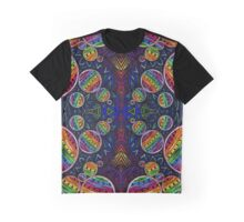 Psychedelic Abstract colourful work 242 Graphic T-Shirt