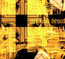 art and beauty Sticker