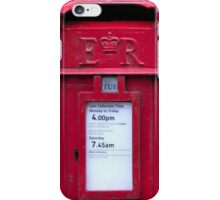 The Post Box iPhone Case/Skin