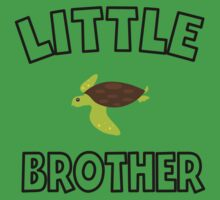 Sea Turtle Little Brother One Piece - Short Sleeve