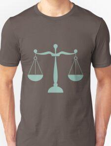 Libra Zodiac / Scale Star Sign Poster T-Shirt