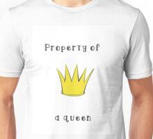 Property of a Queen Unisex T-Shirt
