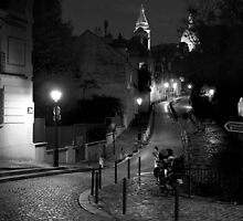 Place Dalida, Montmartre by Nicholas Coates
