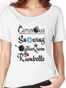 OUAT ships! Women's Relaxed Fit T-Shirt