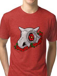 day of the dead cubone Tri-blend T-Shirt