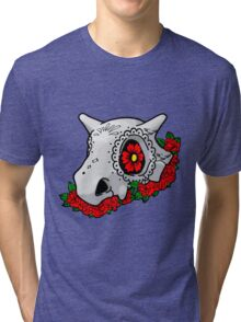 day of the dead cubone Tri-blend T-Shirt