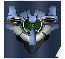 Gundam 00 Chest Poster