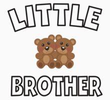 Teddy Bears Little Brother One Piece - Short Sleeve