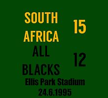 South Africa 15-12 All Blacks - 1995 rugby world cup final by lovesports