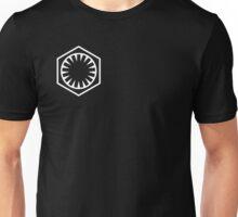 First Order Logo WHITE Unisex T-Shirt