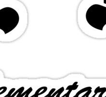 Elementary, dear Watson Sticker