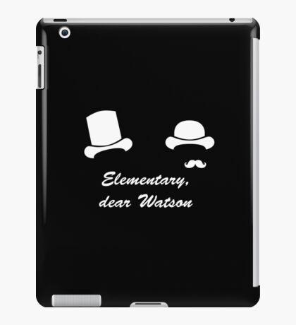 Elementary, dear Watson iPad Case/Skin