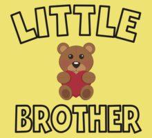 Teddy Bear Little Brother Baby Tee