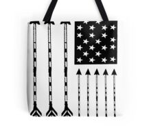 USA Arrow Flag Tote Bag