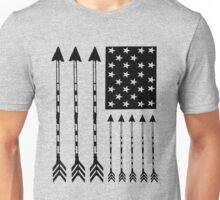 USA Arrow Flag Unisex T-Shirt
