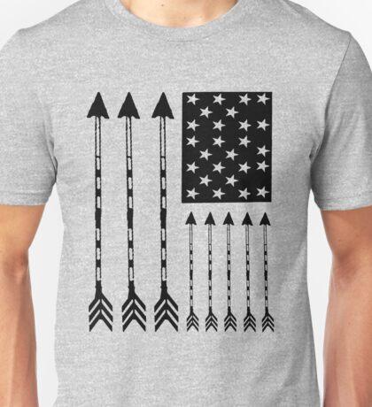 USA Arrow Flag Unisex T-Shirt