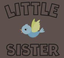 Bird Little Sister One Piece - Short Sleeve